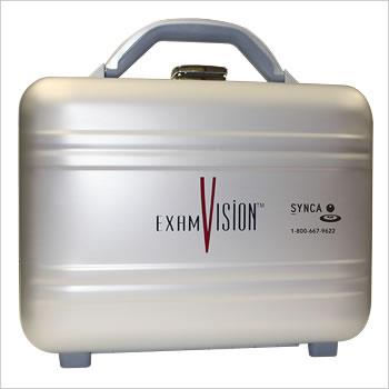 ExamVision valise en métal pour télescopes et lumière