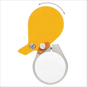 ExamVision filtre photopolymérisation pour lumière