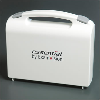 ExamVision plastic case for loupes & light