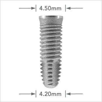 Tapered Self Thread implant 4.20mm