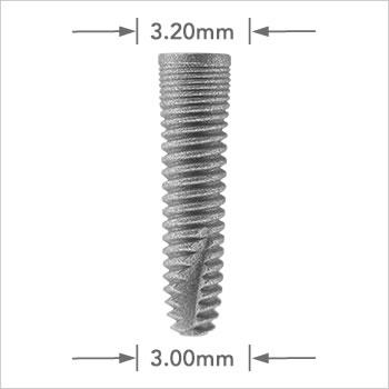 Logic implant 3.00mm