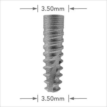Logic implant 3.50mm