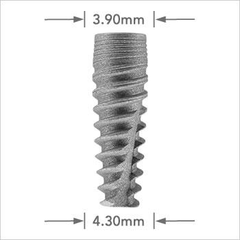 Logic implant 4.30mm