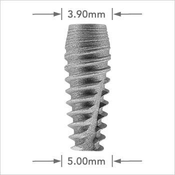 Logic Plus implant 5.00mm