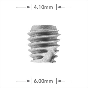 Logic implant 6.00mm