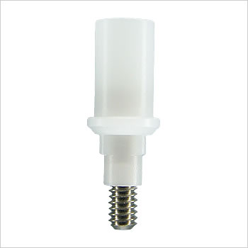 Plastic castable abutment 10mm