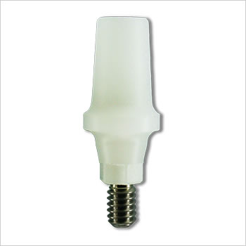 Plastic castable abutment 10mm (non-engaging): SL-PCA-R
