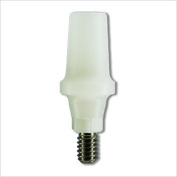 Plastic castable abutment 10mm (non-engaging): SL-PCA-R