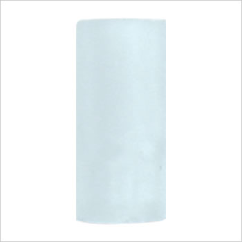 Castable plastic cylinder for T-CBA-W: T-OPC-W