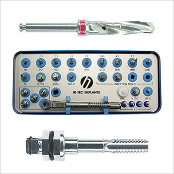 Logic Plus surgical box, drills and/or instruments