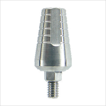 Wide anti-rotation abutment 10mm: W-ACA-P