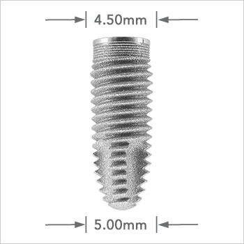 Tapered Self Thread implant 5.00mm