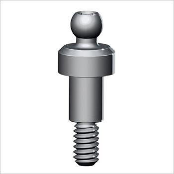 Over-denture ball attachment: X-BBA